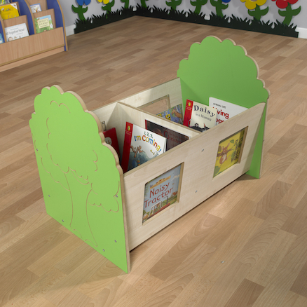 Forest Book Storage Cubes  large