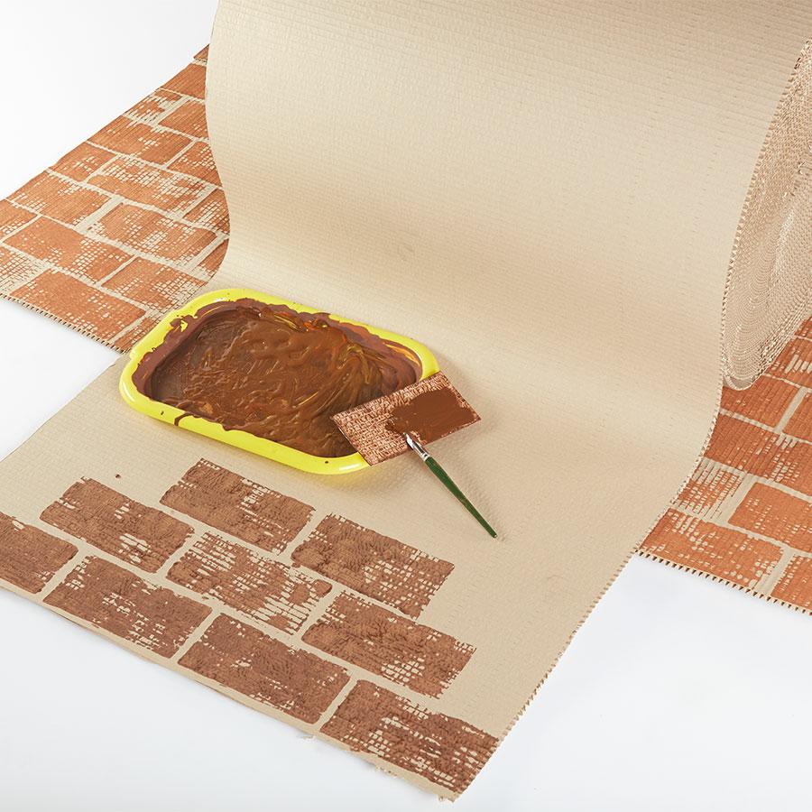 how to make corrugated cardboard