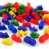 Soft Rubber Mini Motors Counters 72pk  small
