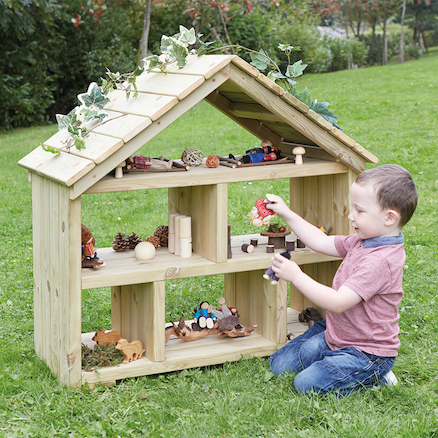 Outdoor Wooden Dolls House  large