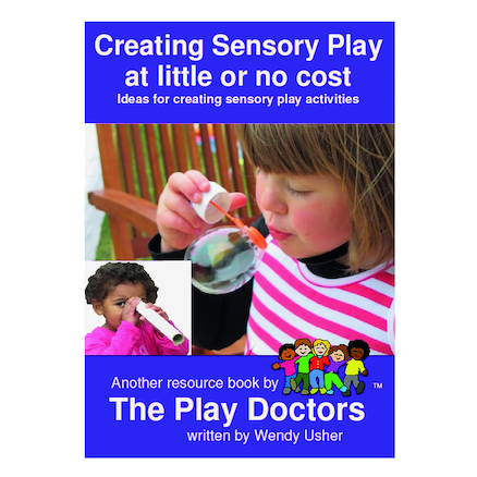 Creating Sensory Play at Little or No Cost Book  large