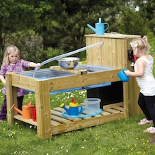 Outdoor Water Pump Station Table  medium