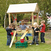 Super Outdoor Wooden Sand and Water Unit  small