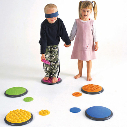 Tactile Multi Sensory Discs  large
