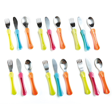 Tommee Tippee Soft Handle First Cutlery Set 18pcs  medium