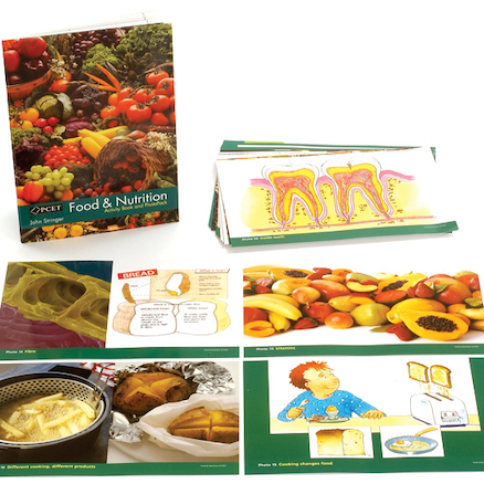 Food and Nutrition Activity Book and Photopack  large