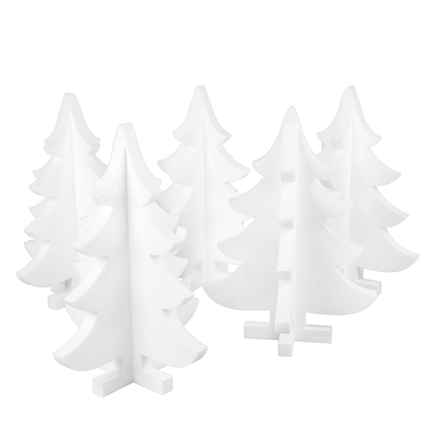 Large Polystyrene Christmas Shapes  large