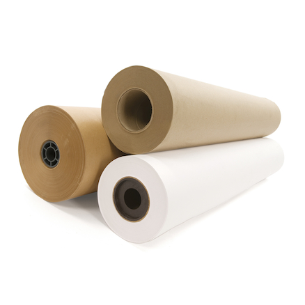 White Heavy Duty 170gsm Cartridge Paper Roll 50m  large