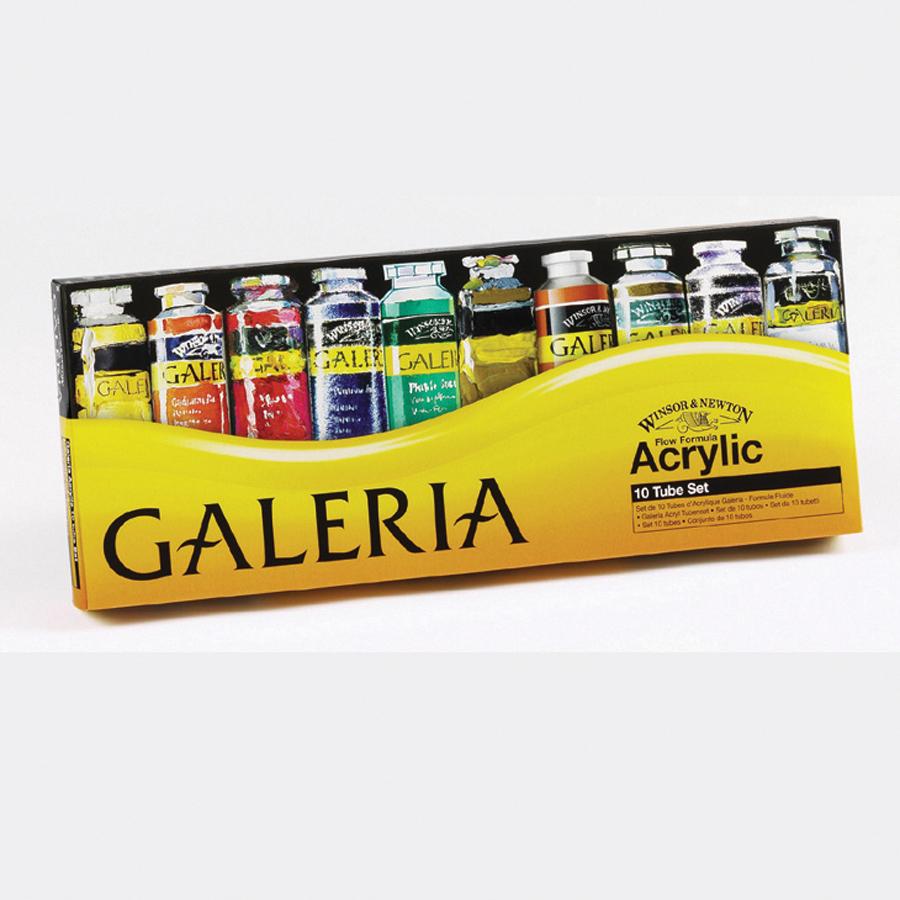 Galeria: Buy Winsor & Newton Galeria Acrylic Paint Tubes 60ml 10pk