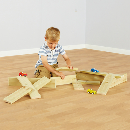 Mini Wooden Planks 12pk  large