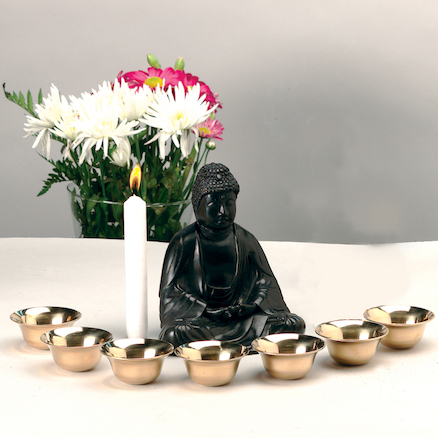 Buddhist Puja Bowls  large