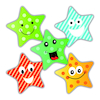 Scented Star Reward Stickers 250pk  small
