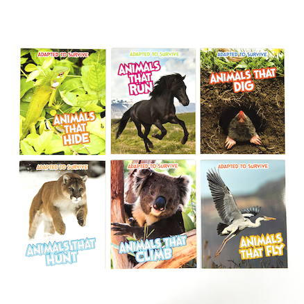 Adapted to Survive Books 6pk  large