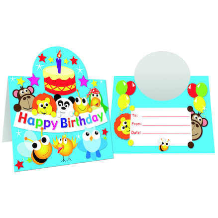 Birthday Stand Up Certificates 40pk  large