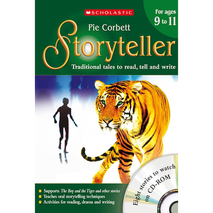 Pie Corbett's Storyteller Teacher's Books  large