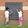 Outdoor Hundred Square Chalkboards 1-100  small