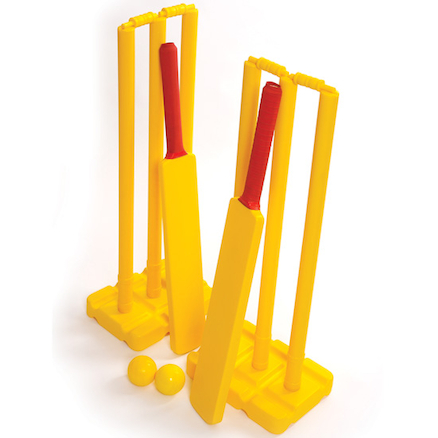 Playground Plastic Cricket Set with Bag  large