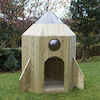 Outdoor Wooden Role Play Spaceship  small
