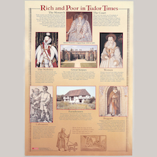 Rich and Poor In Tudor Era Poster and Photocards  medium