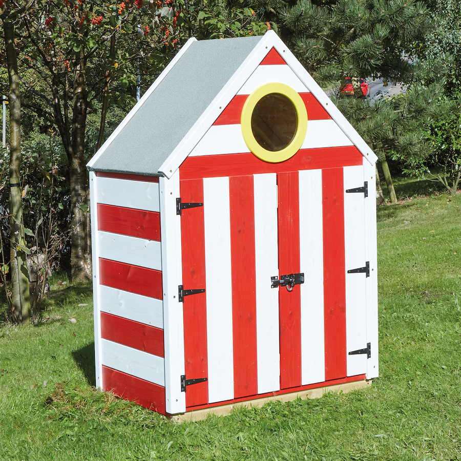 Buy outdoor seaside storage unit tts for Storage huts for garden