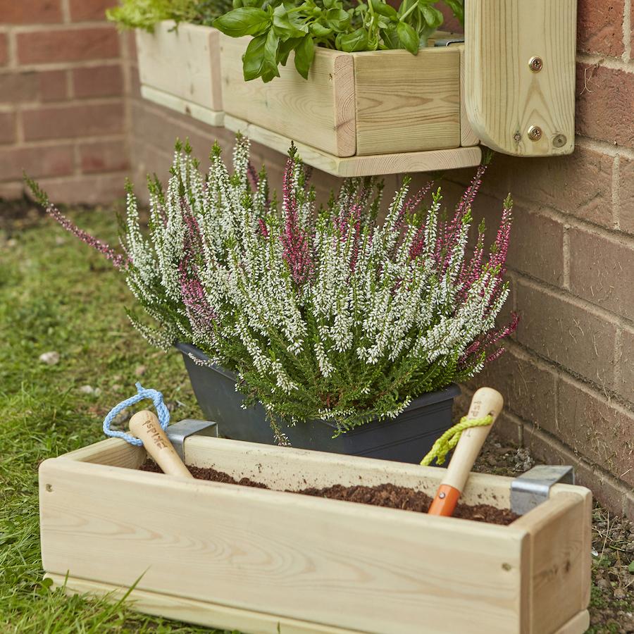 buy individual wooden planter sets tts. Black Bedroom Furniture Sets. Home Design Ideas