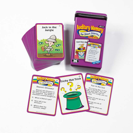 Auditory Memory For Short Stories Activity Cards  large