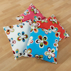 Colourful Embroidered Cushions 40 x 40cm 4pk  small