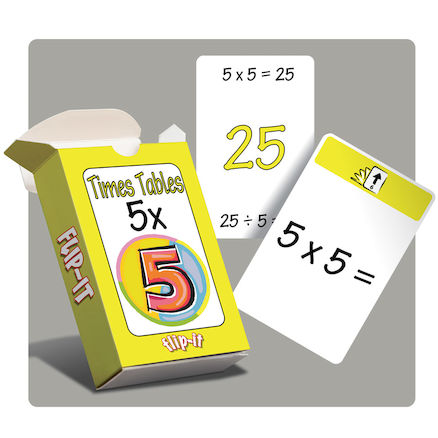 Flip-it 5 Times Tables  large