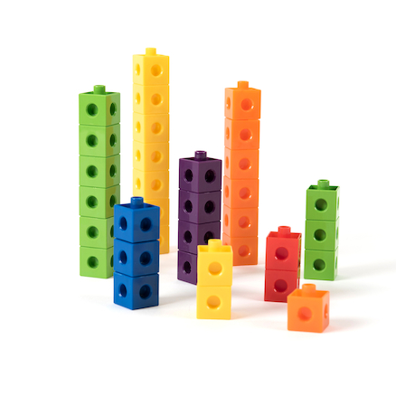 Colourful Snap Counting Cubes 1000pk  large