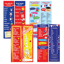 French Bookmarks 80pk  medium