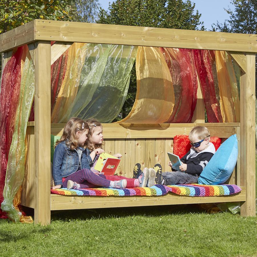 Buy Outdoor Wooden Reading Super Seat Tts