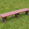 Recycled Plastic Three Seater Bench  small