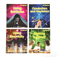 Electricity and Circuit Books 4pk  medium