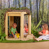 Outdoor Wooden Pod  small