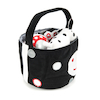 Black and White Soft Baby Toys in Basket  small