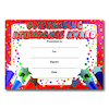 Sparkly Attendance Certificates 40pk  small