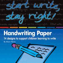 Start Write Stay Right Handwriting Papers and CD  medium