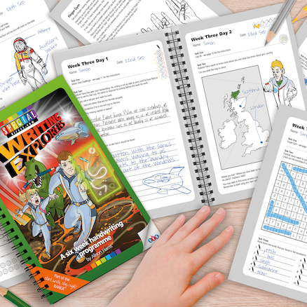 Writing Explorers Handwriting Activity Programme  large