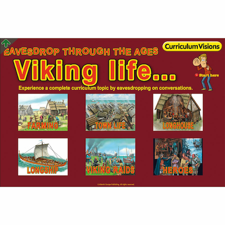 Viking Life Book and Eavesdrop CD  large