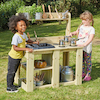 Outdoor Wooden Messy Mud Kitchen  small