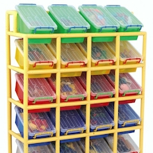 Rainbow 20 Tilt Bin Storage Unit  medium