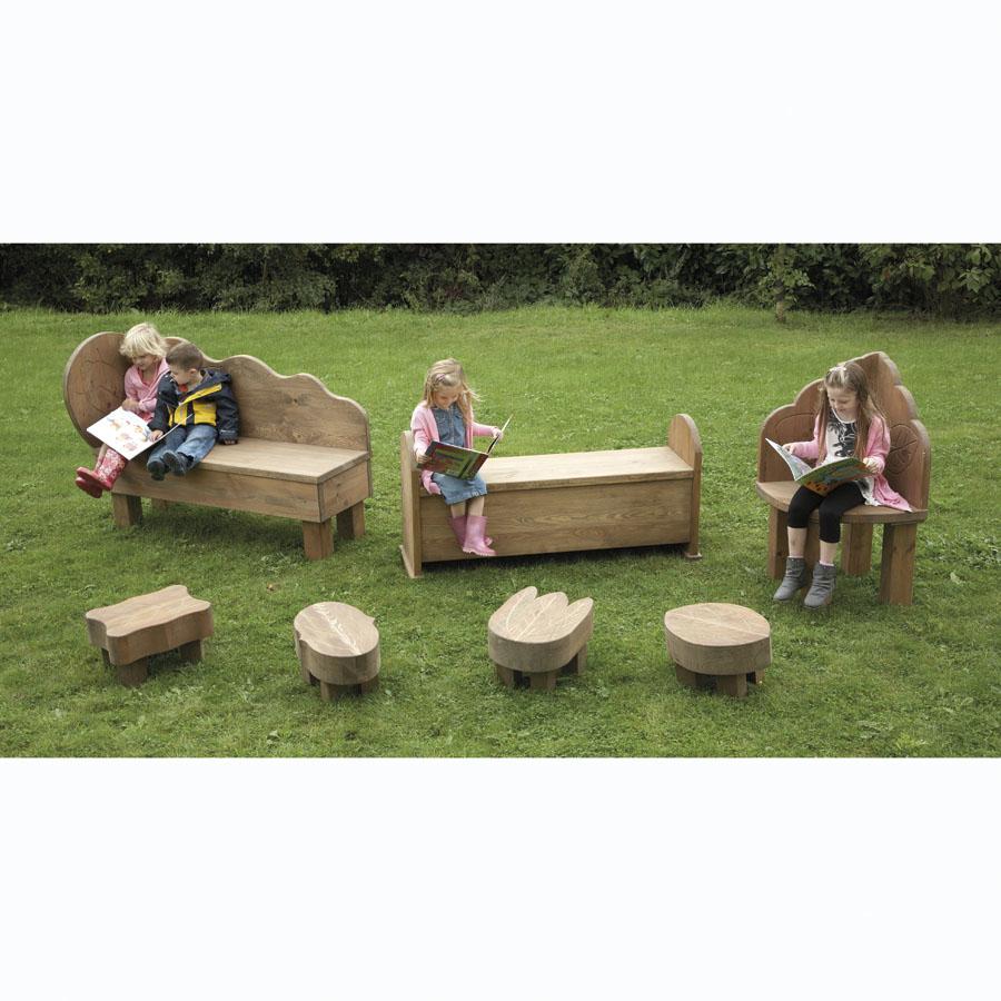 Buy Outdoor Wooden Seating Furniture Range Tts