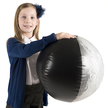 Inflatable Phases of The Moon Demonstration Ball  medium