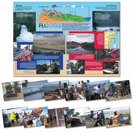 100 x 70cm Floods Poster and Photopack A4 12pk  large