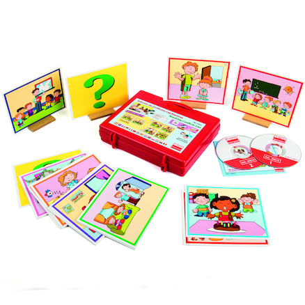 Conflict Resolution Lies Story Cards and CD  large