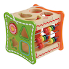 Wooden Multi Activity Manipulative Cube  small