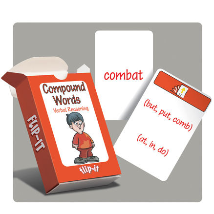 Flip-it Compound Words Verbal Reasoning  large