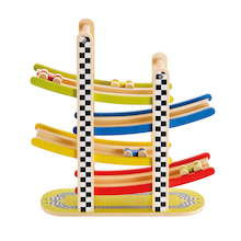 Wooden Tower Slope with Cars  medium