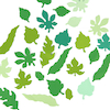 Small Spring/Summer Paper Leaves Assorted 250pk  small