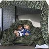 Camouflage Den Making Material 4m  small